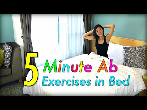 5-Minute AB Exercises in Bed! - YouTube