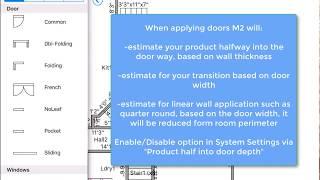 Doors - MeasureSquare iPad Edition