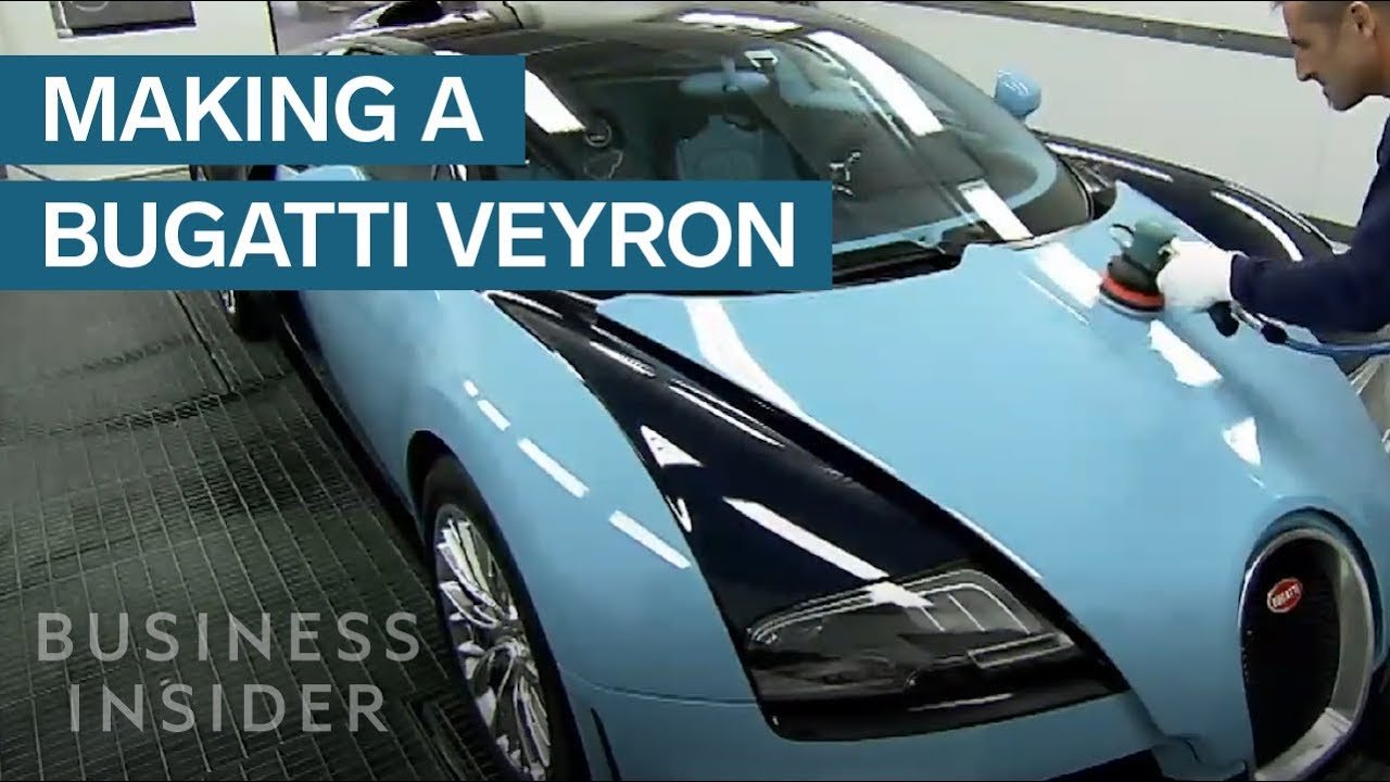 watch how a bugatti veyron is made - youtube