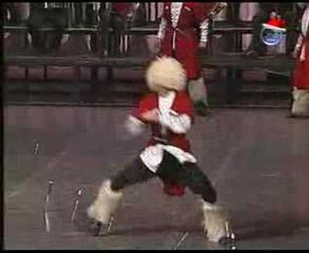 SUKHISHVILI - ხანჯლური GEORGIAN DANCE  WITH DAGGERS