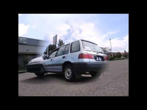 1990 Honda Civic Wagon Youtube