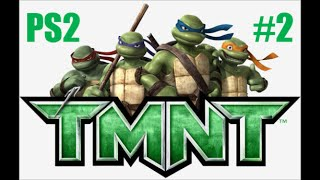 TMNT 2007 PS2 Playthrough Part 2