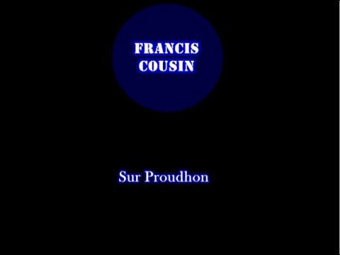 Francis Cousin sur Proudhon