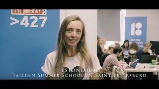 ESTONIA100: Tallinn Summer School IN Saint Petersburg!