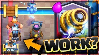 does sparky work... Clash Royale - SPARKY DECK!