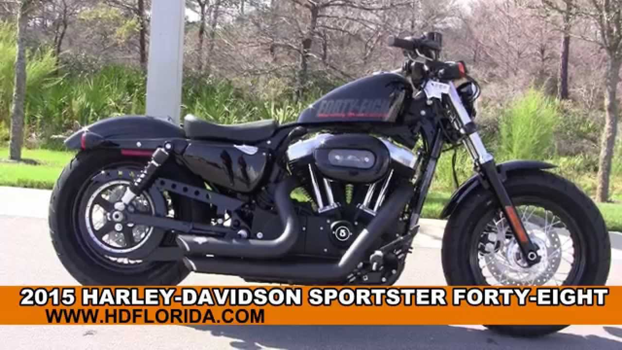New 2015 Harley Davidson Sportster Forty Eight Motorcycles For