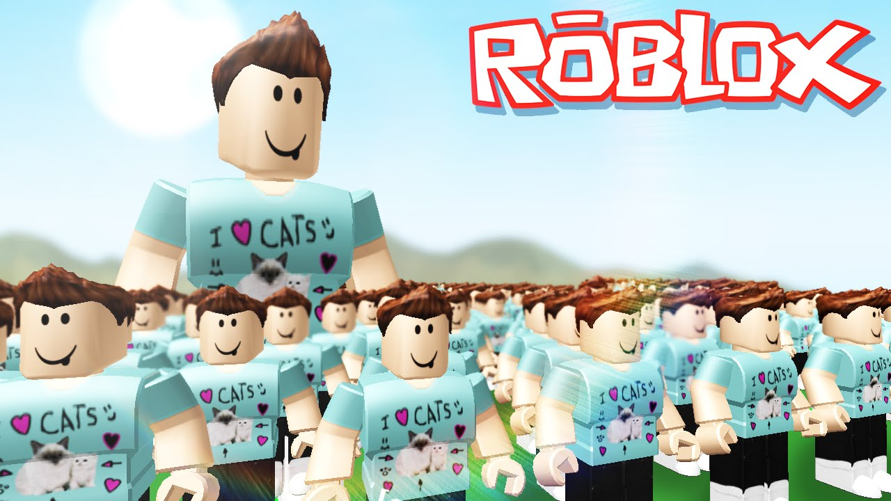 Roblox Adventures / Clone Tycoon 2 / Army Of Giants And