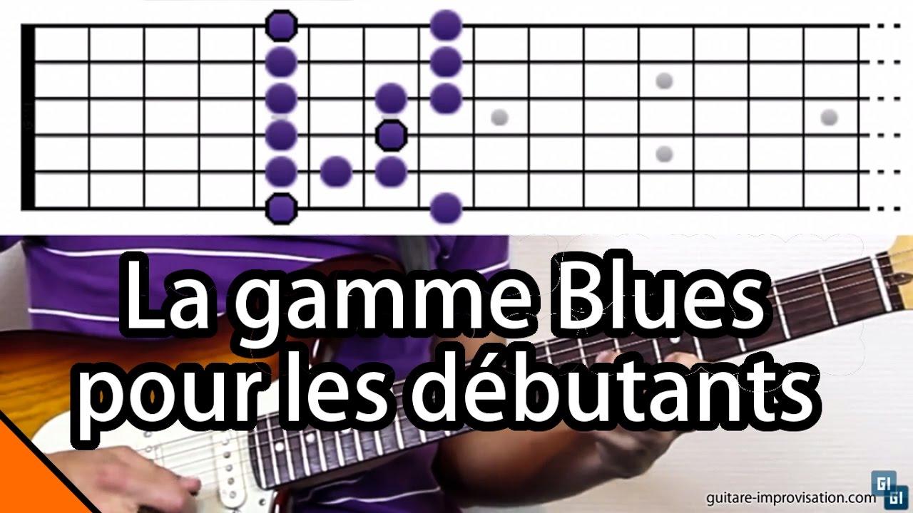 apprendre gamme pentatonique guitare,