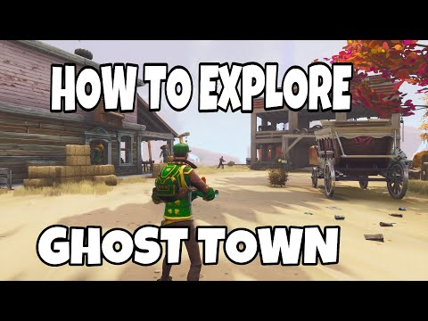 HOW TO FIND GHOST TOWN IN FORTNITE SAVE THE WORLD