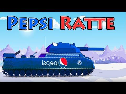 Super Tank Rumble Creations - Pepsi Ratte