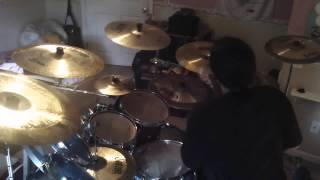 Carcass - Incarnated Solvent Abuse drums (Pearl Masters MCX kit) (HD)