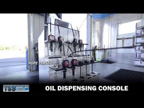 TSS Oil Change Equipment - Oil Dispensing Console