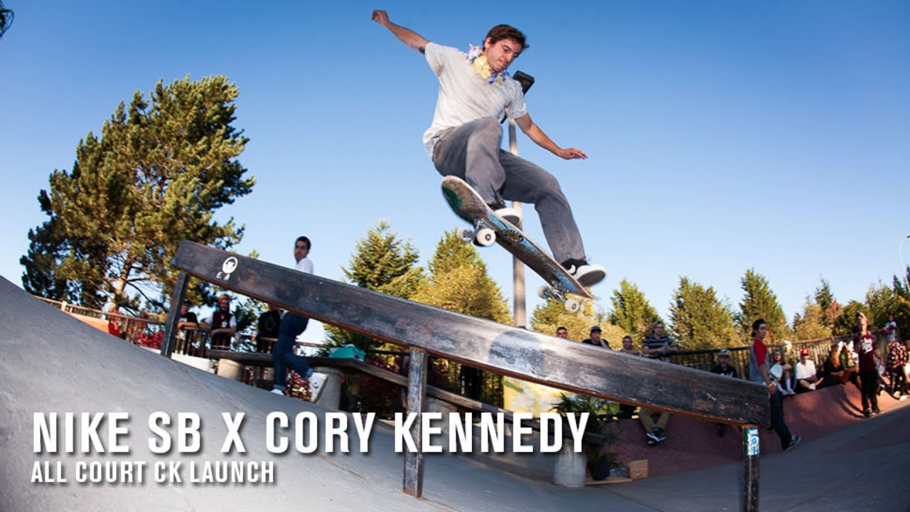 e2cd393e4 Nike SB Corey Kennedy Zoom All Court CK Launch | TransWorld SKATEboarding