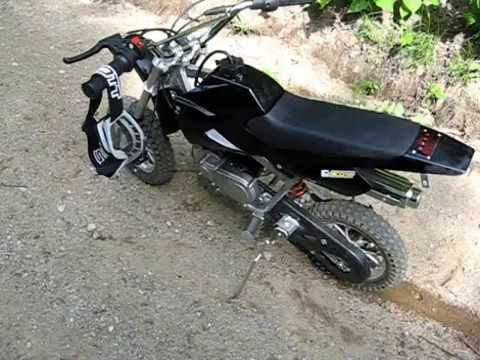 mini dirt bike 49cc youtube. Black Bedroom Furniture Sets. Home Design Ideas