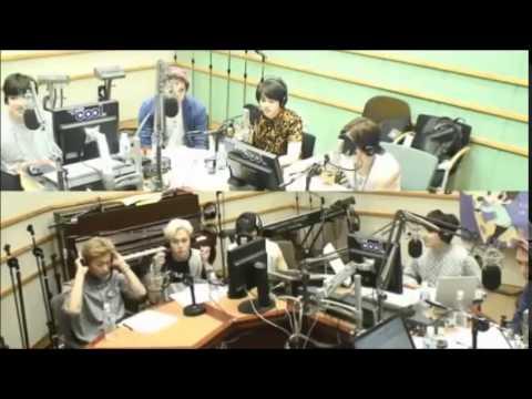 140625 Sukira - BEAST Gi Kwang called out to BTOB Hyun Sik