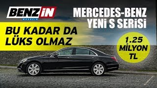 Mercedes-Benz S400 d 4MATIC L test sürüşü 2017