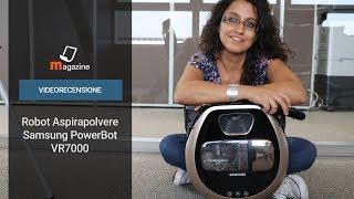 Robot aspirapolvere Samsung PowerBot VR7000: la recensione