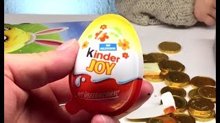 Kinder Surprise Eggs Joy and Easter Eggs Edition - Toys For Kids thumbnail