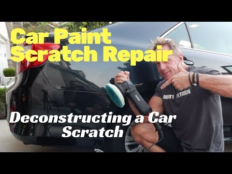 Car Paint Scratch Repair: Deconstructing a car scratch