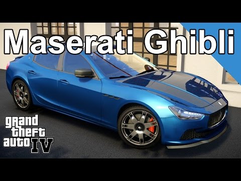 GTA4 Mods - 2014 Maserati Ghibli By [YCA]Nima