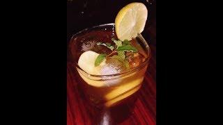 Lemon mint iced tea by cooking with Girija/refreshing ice tea /Refreshing beverages