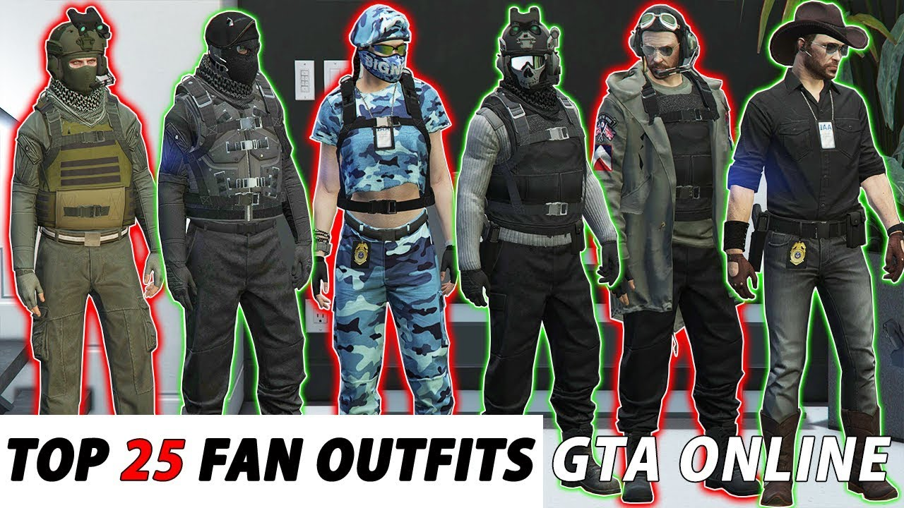 *NEW* TOP 6 OUTFITS  AFTER HOURS 6.6  GTA Online  NOT MODDED  SOTW   MALE/FEMALE