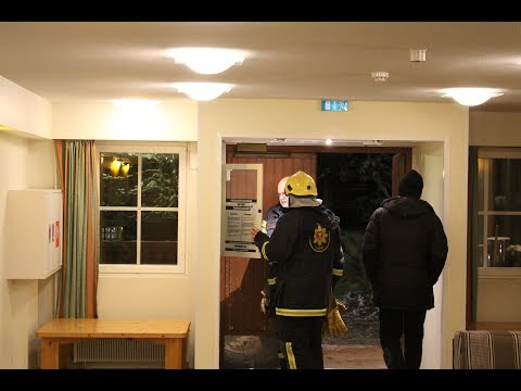 Fire alarm in the hotel! (Trip to Lapland)