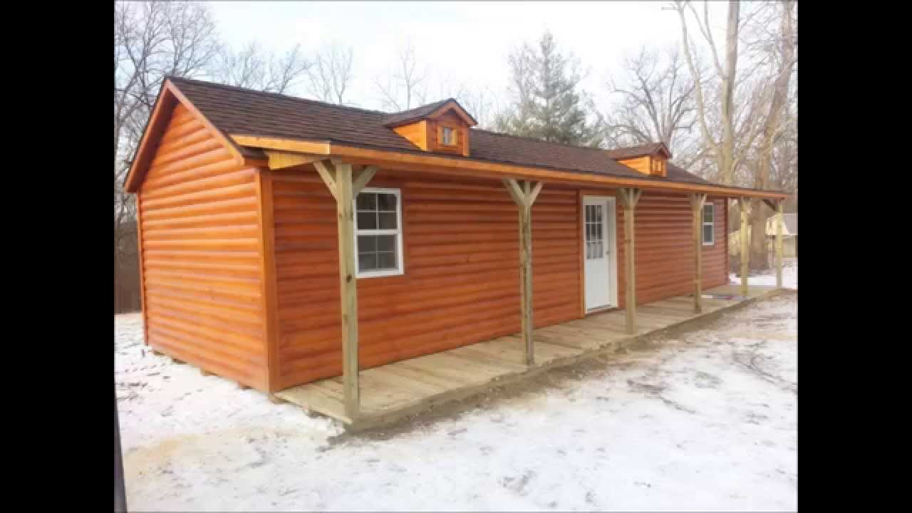 Pictures Of Shed We Bought To Convert To Our Off Grid Cabin   YouTube