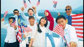 Masya Masyitah, Usop, William Tan, Lil J, Eiffel, Alif, Timah & Cici  - Oh Malaysiaku [Official MV]