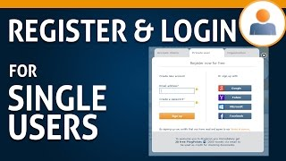 01 Register & Login for Singleusers
