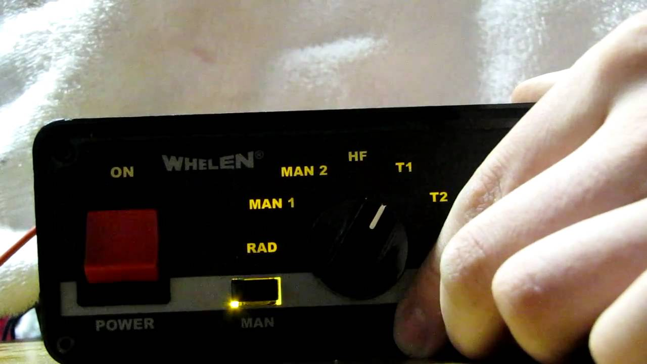 Whelen 295sl100 Demo Youtube