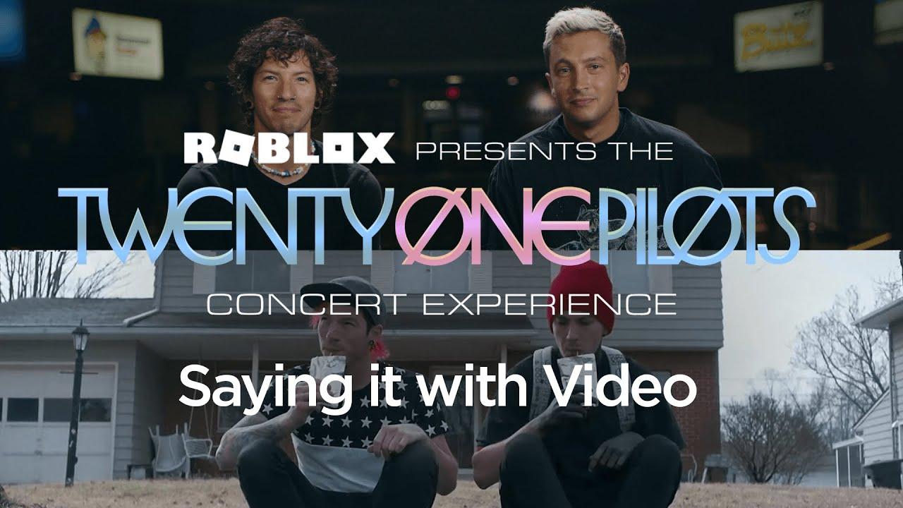 Saying it with Video | Twenty One Pilots Concert Preshow