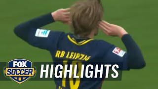 Video Gol Pertandingan Borussia Monchengladbach vs RB leipzig