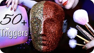 ASMR 50+ Triggers over 3 Hours (NO TALKING) Ear Cleaning, Massage, Tapping, Peeling, Umbrella & MORE thumbnail