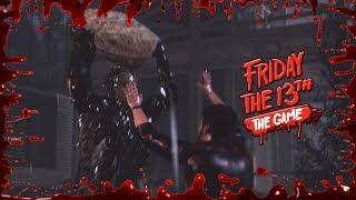 Te gusta mi piedrota?? | Friday the 13th: THE GAME - DESAFÍO 8