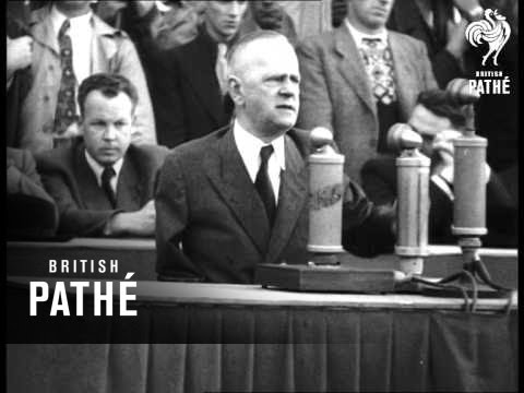 Political Speech Hamburg (1950)
