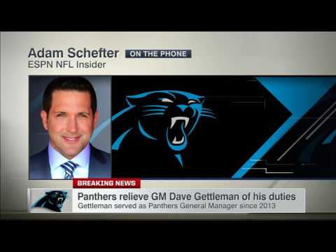 Odd timing for Gettleman firing by Panthers