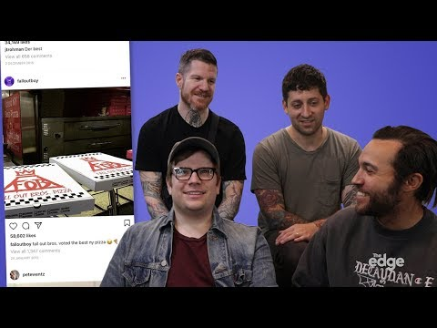Fall Out Boy explains their Instagram photos