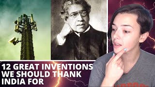 12 Great Inventions We Should Thank India For | REACTION! | Indi Rossi