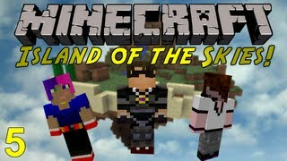 Minecraft: Island of the Skies 5 : Progressing Along 2!