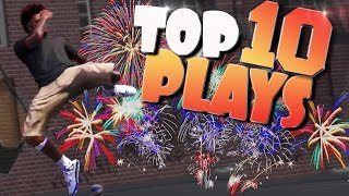FINAL TOP 10 PLAYS Of The YEAR 2017 - NBA 2K18 Highlights