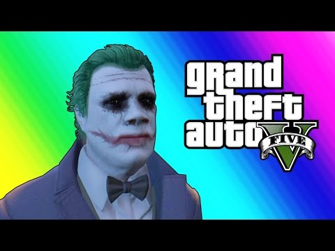 Save GTA 5 Online: Halloween DLC - The Joker & The Slasher! (GTA 5 Funny Moments) Screenshots