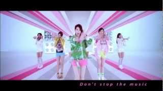 Repeat youtube video Dream Girls -Don't stop the music官方舞蹈版MV [李毓芬+宋米秦+郭雪芙]