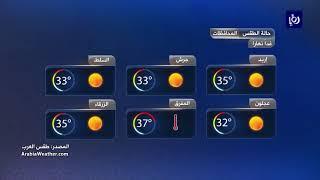 النشرة الجوية الأردنية من رؤيا 2-6-2019 | Jordan Weather