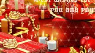 Christmas Greeting E-card - Send Holiday Wishes in Video
