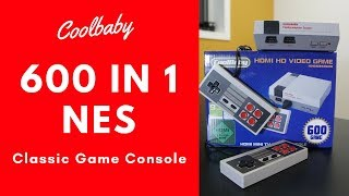 COOLBABY NES 600 Game HDMI Mini System
