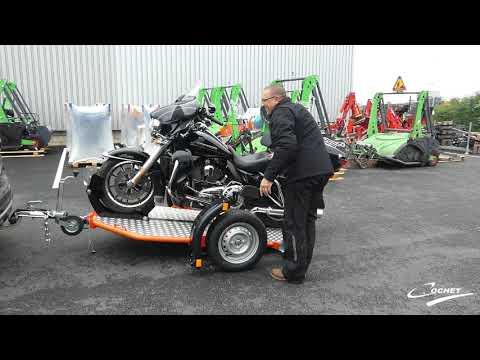Remorque COCHET Abaissante Et Pliante Pour Harley Davidson Electra Glide Ultra Classic
