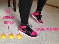 """Air Jordan Retro 1 """"Serena Williams"""" Review/On Foot!"""