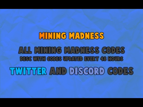 Mining Madness   All Codes (June Working!)