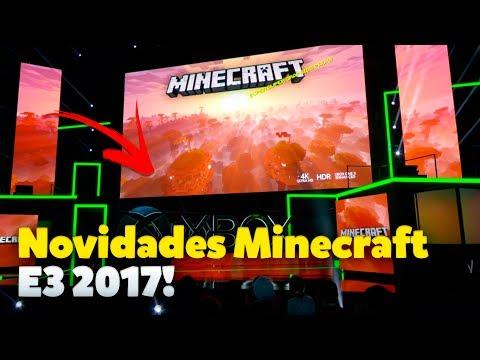 Tudo Que Você Precisa Saber Sobre Minecraft na E3 2017